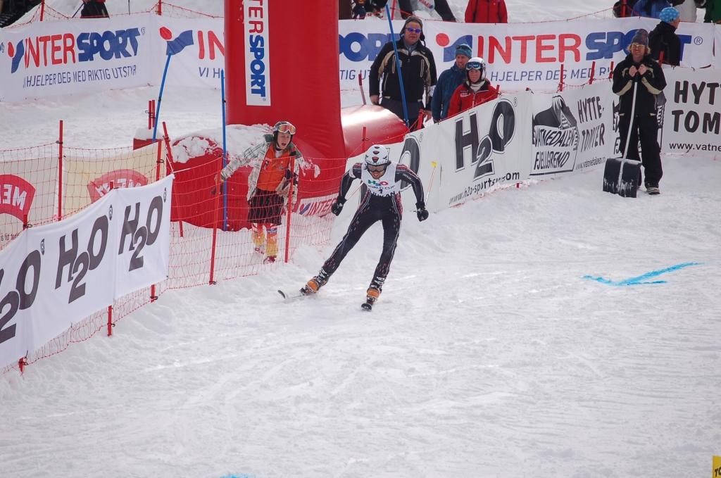 partie ski de fond