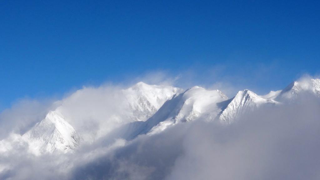 Chaines du Mont Blanc
