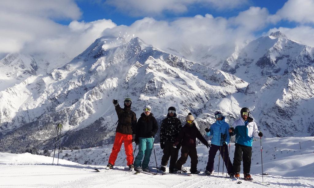 Sk crew_Mont-blanc