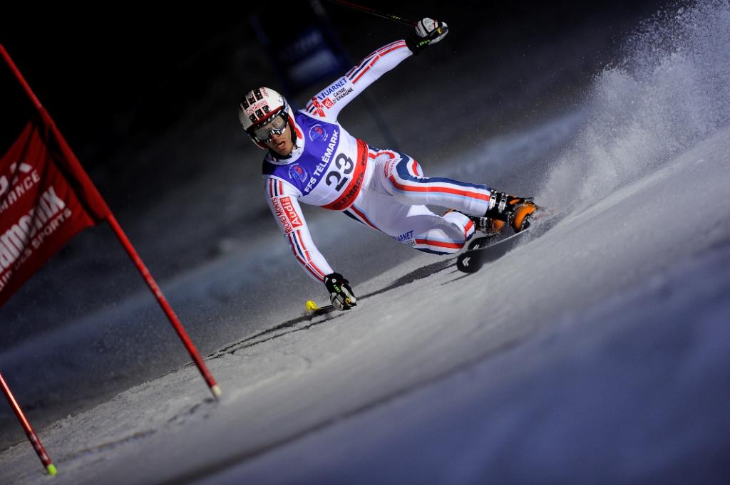 Etape coupe du monde de télémark Chamonix Nocturne