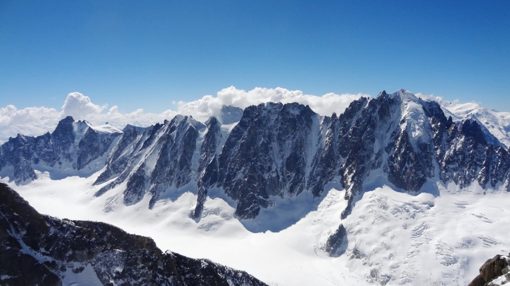 face nord argentière