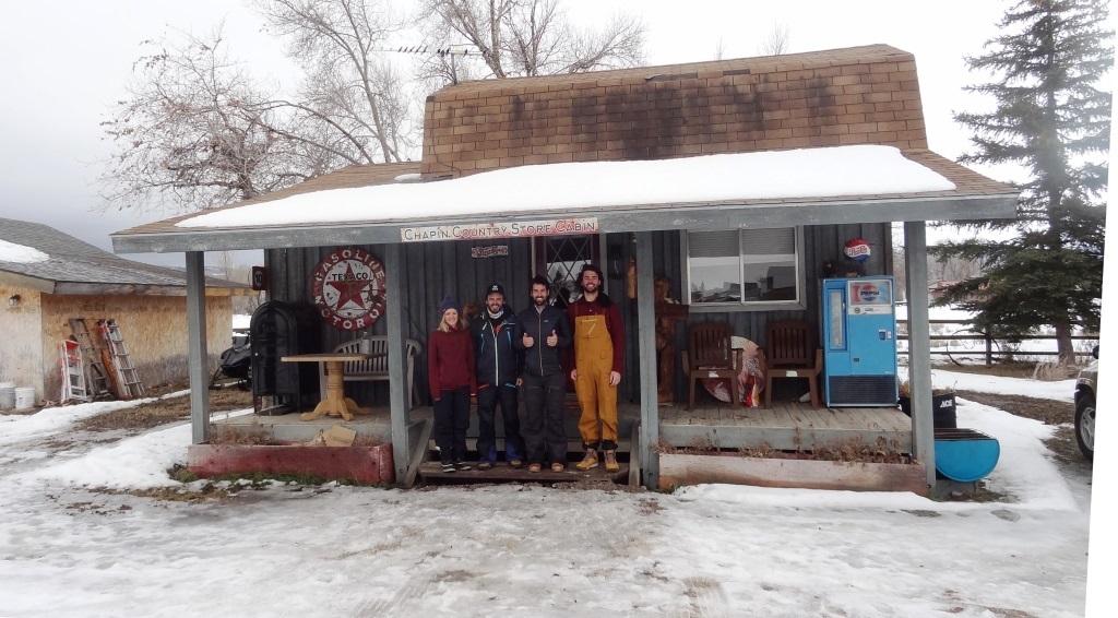 12 team cabin
