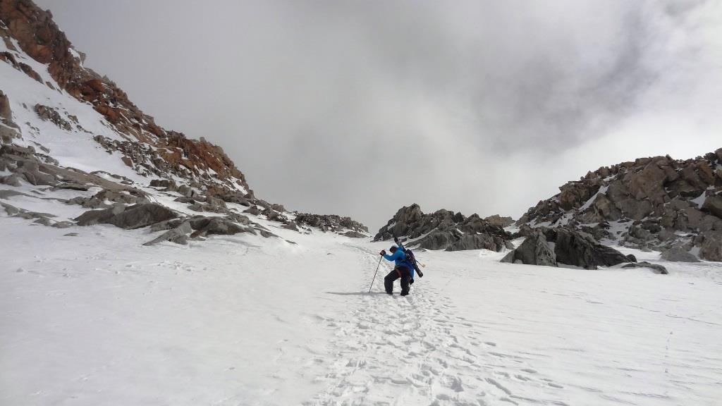 4 derniere pente glacier du milieu