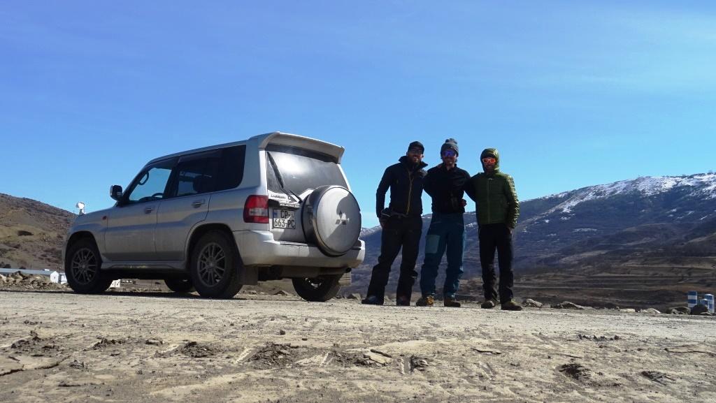 3 Pajero crew